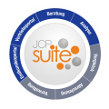 JCP Suite Logo Orange white BG